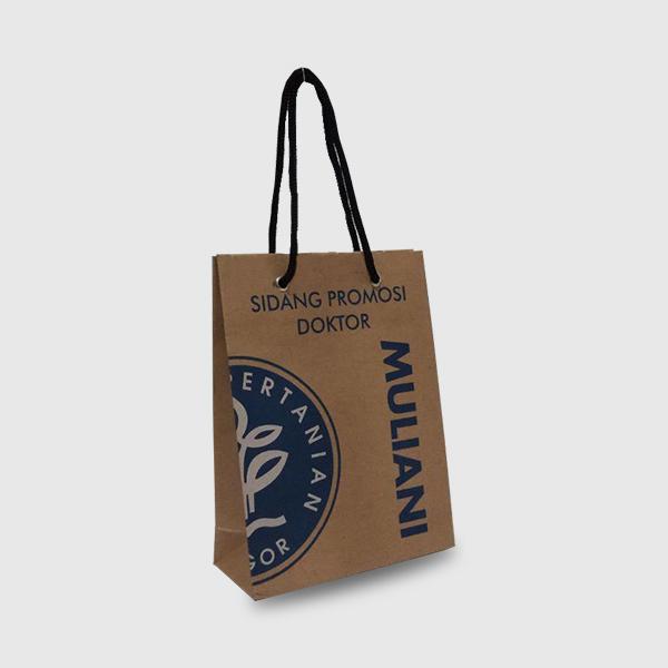 Paper bag coklat Sidang Promosi Doktor- kanan