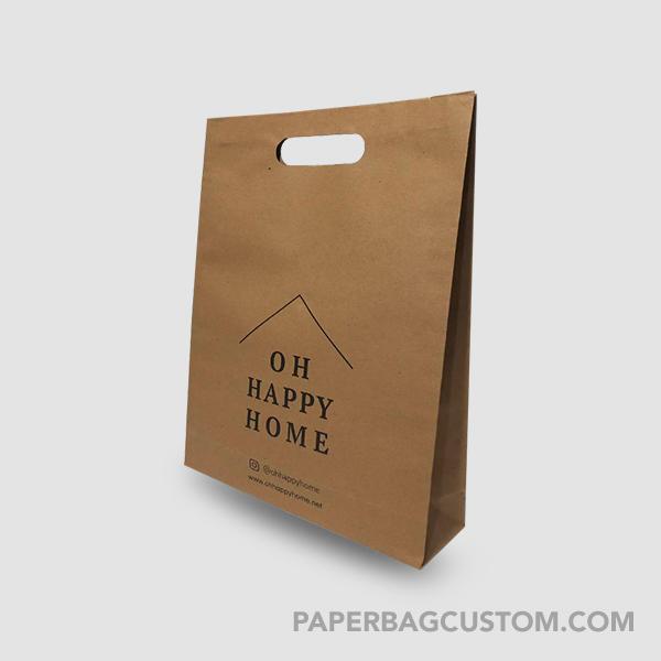 Papper bag Coklat Bahan kraft