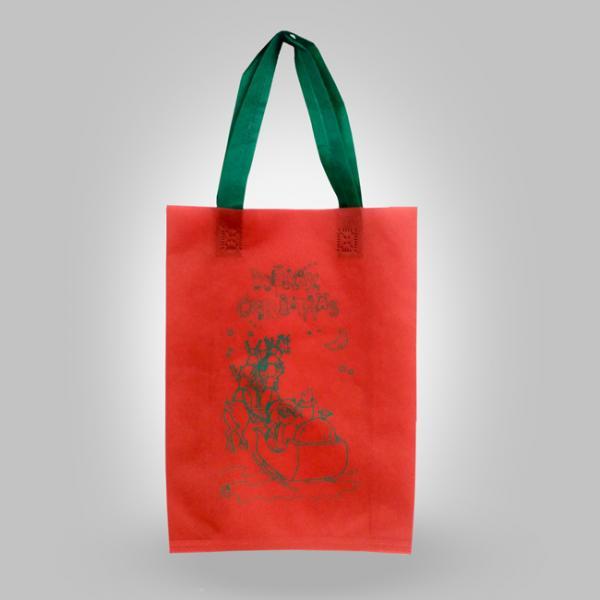 Goodie bag-tas-press-Spunbond-santa-clouse