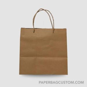 Paper Bag Coklat Custom Design